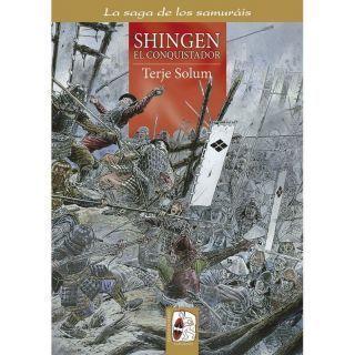 La saga de los samuráis n.º5: Shingen el conquistador