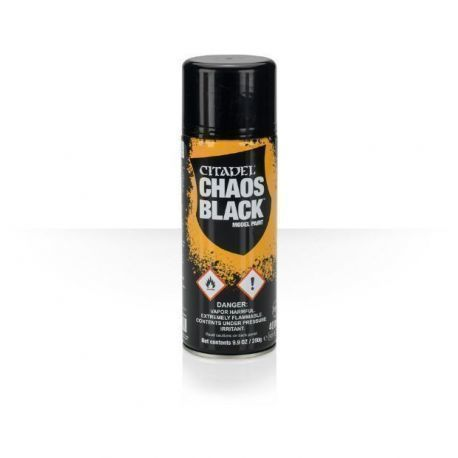 CHAOS BLACK SPRAY 400ml