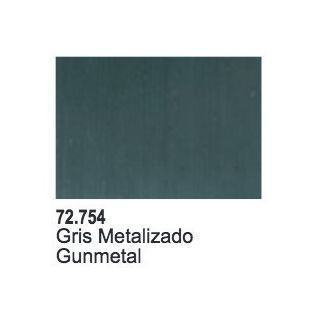 GUNMETAL METAL - 17 ML.