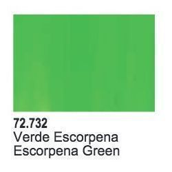 SCORPY GREEN - 17 ML.