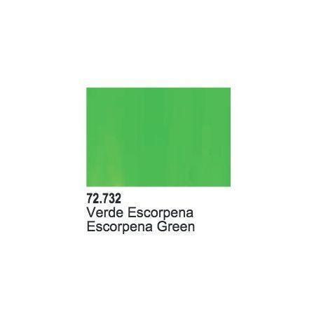 SCORPY GREEN - 17 ML.