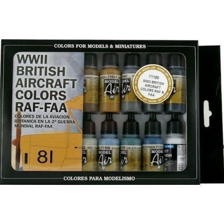 WWII BRITISH AIRCRAFT RAF & FAA