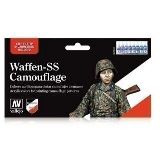 MODEL COLOR SET: WAFFEN SS CAMOUFLAGE