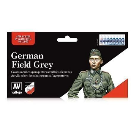 MODEL COLOR SET: GERMAN FIELD GREY UNIFORM
