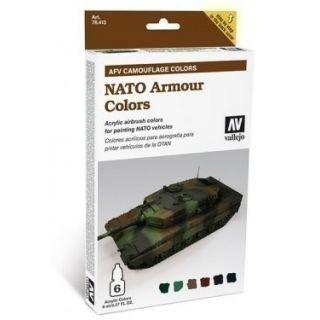 DAK AFRIKA KORPS SET NATO CAMOUFLAGE 6X8ML