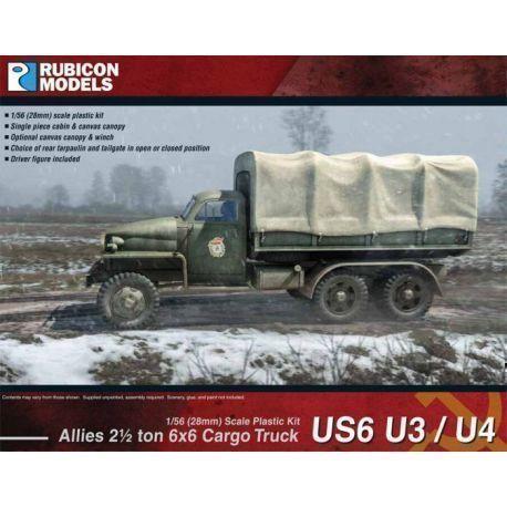 "Rubicon Plastic - US6 U3/U4 Studebaker"" Truck"