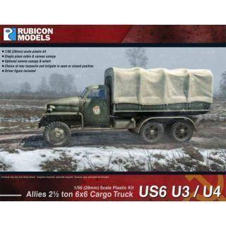 "Rubicon Plastic - US6 U3/U4 Studebaker Truck"""