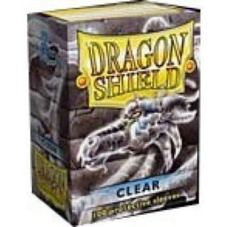 Dragon Shield Standard Sleeves - Clear (100 Sleeves)