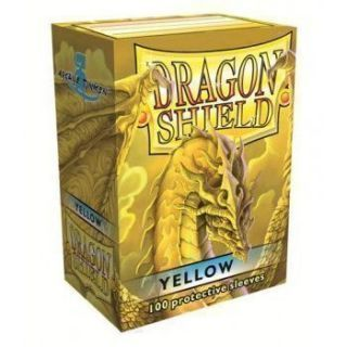 Dragon Shield Standard Sleeves - Yellow (100 Sleeves)