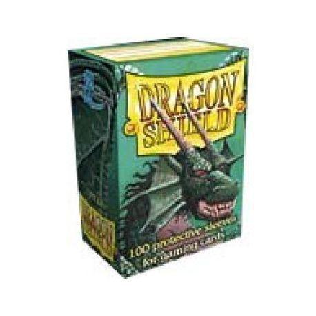 Dragon Shield Standard Sleeves - Green (100 Sleeves)