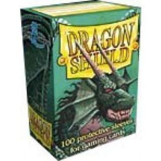 Dragon Shield Standard Sleeves - Green (100 Sleeves)