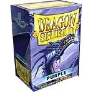 Dragon Shield Standard Sleeves - Purple (100 Sleeves)