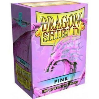 Dragon Shield Standard Sleeves - Pink (100 Sleeves)