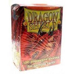 Dragon Shield Standard Sleeves - Red (100 Sleeves)