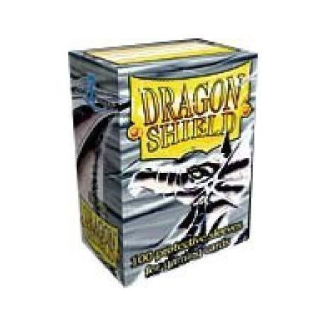 Dragon Shield Standard Sleeves - Silver (100 Sleeves)