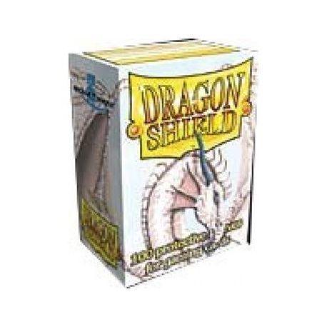 Dragon Shield Standard Sleeves - White (100 Sleeves)