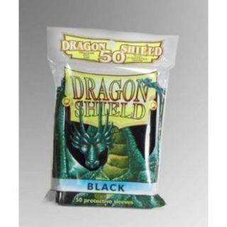Dragon Shield Standard Sleeves - Black (50 Sleeves)