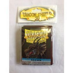 Dragon Shield Standard Sleeves - Brown (50 Sleeves)