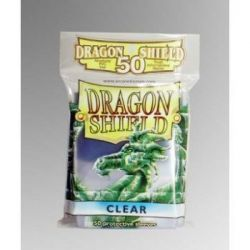 Dragon Shield Standard Sleeves - Clear (50 Sleeves)