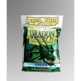 Dragon Shield Standard Sleeves - Green (50 Sleeves)