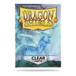 Dragon Shield Standard Sleeves - Matte Clear (100 Sleeves)