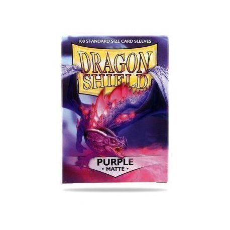 Dragon Shield Standard Sleeves - Matte Purple (100 Sleeves)