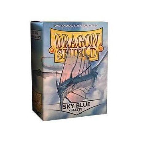 Dragon Shield Standard Sleeves - Matte Sky Blue (100 Sleeves)