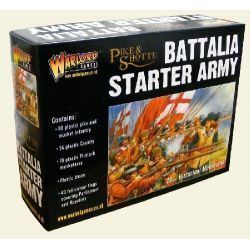 Battalia Starter Army Box (80 Inf, 24 Cav, 10 Firelocks)