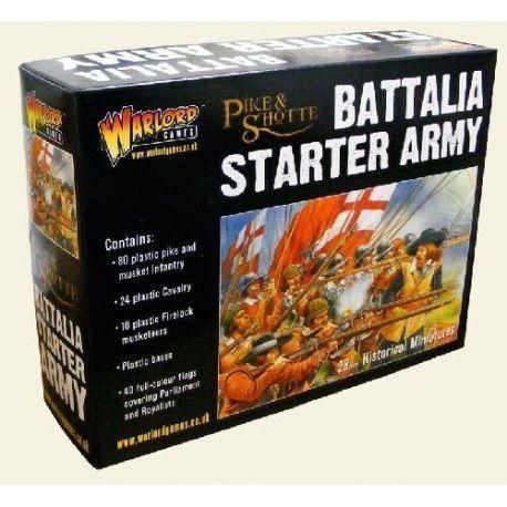 Battalia Starter Army Box (80 Inf, 24 Cav, 10 Firelocks)