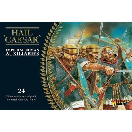 Imperial Roman Auxiliaries (20 plastic + 4 metal command)