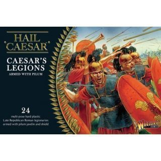 Caesarian Romans with Pilum