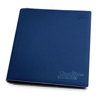 Álbum 12 - Pocket QuadRow Portfolio Xenoskin Azul Marino