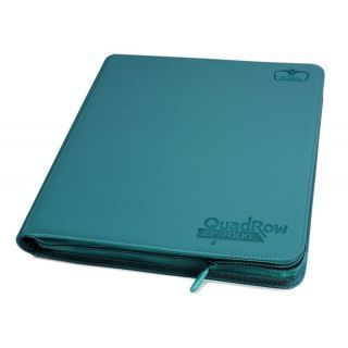 Álbum 12 - Pocket QuadRow Zipfolio XenoSkin Azul Gasolina