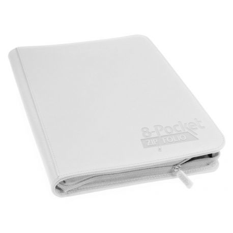 ÁLBUM 8 - POCKET ZIPFOLIO BLANCO