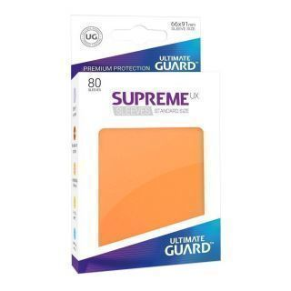 Fundas Supreme UX Color Naranja (80 unidades)