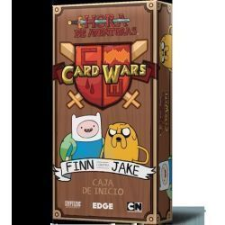 Card Wars - Finn contra Jake
