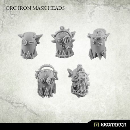 ORC IRON MASK HEADS