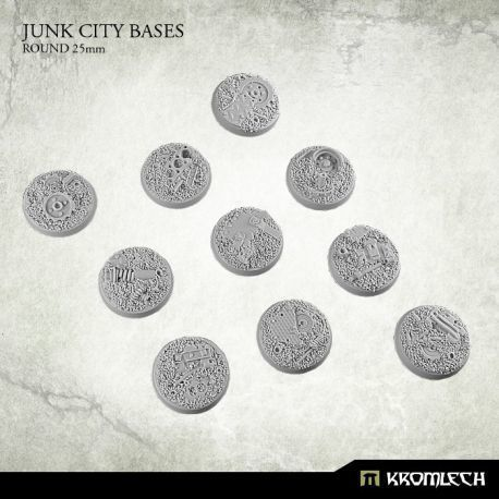 JUNK CITY BASES, ROUND 25MM