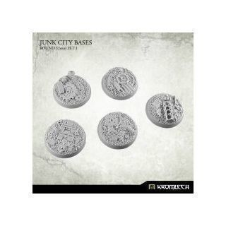 JUNK CITY BASES, ROUND 32MM SET 1
