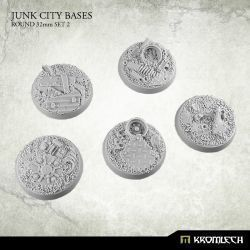 JUNK CITY BASES ROUND 32MM SET 2