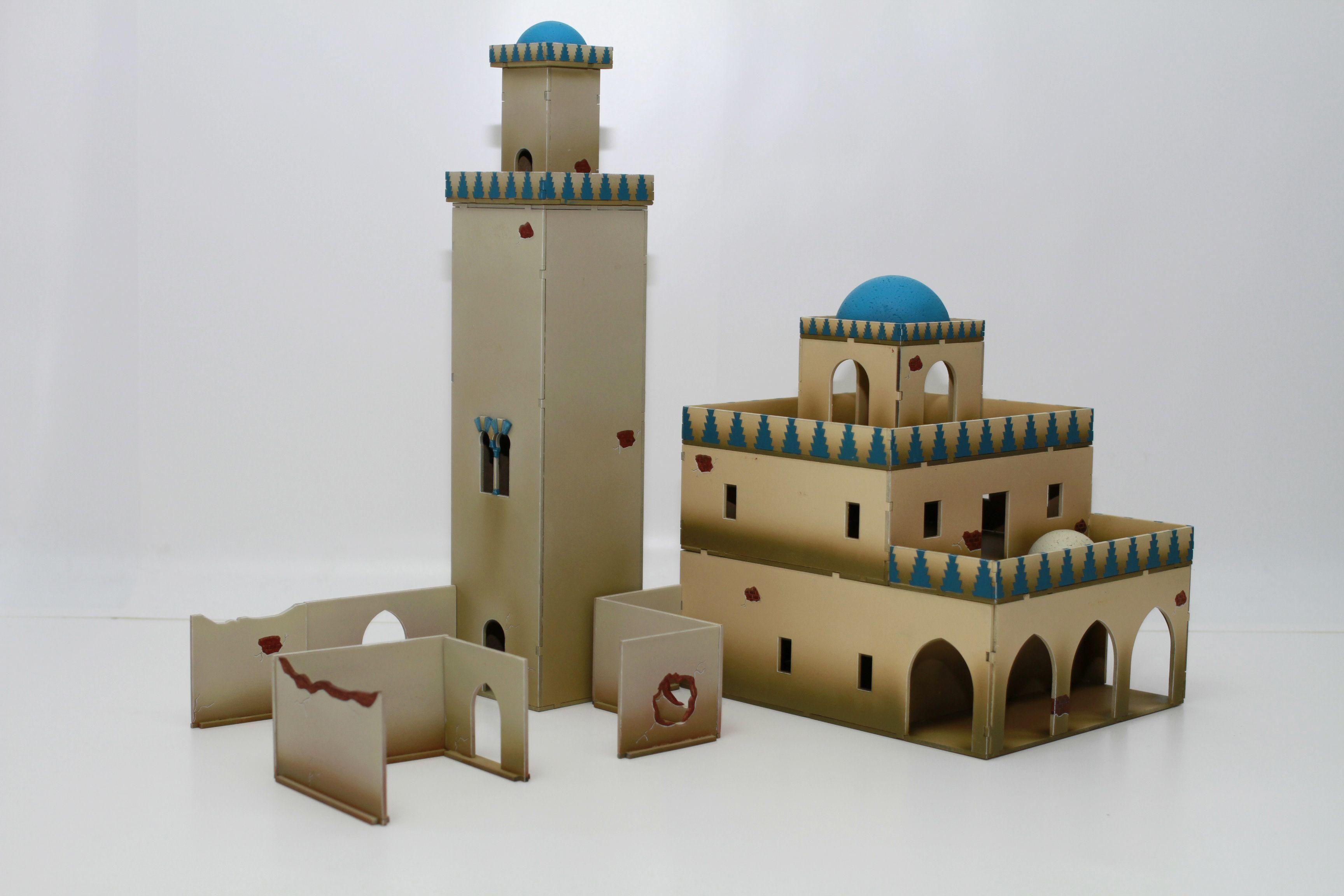 Mosque & Minaret - Bandua Wargames Online Miniature Store