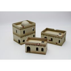 North Africa Building Set 3 scenery 32mm / 28mm