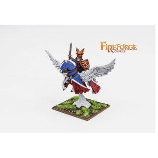 Albion's Noble on Pegasus (Lion)