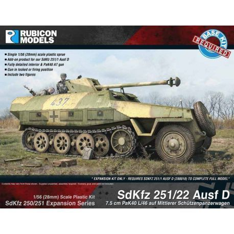 SdKfz 250/251 Expansion - 251/22 Ausf D