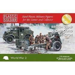 1/72nd British 25pdr & CMP Quad Tractor