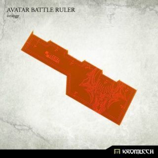 AVATAR BATTLE RULER ORANGE