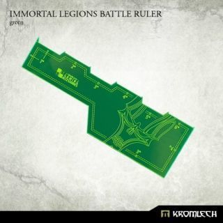 IMMORTAL LEGIONS BATTLE RULER GREEN