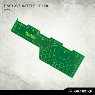 ENCLAVE BATTLE RULER GREEN