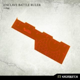ENCLAVE BATTLE RULER ORANGE