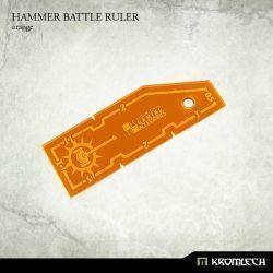 HAMMER BATTLE RULER ORANGE
